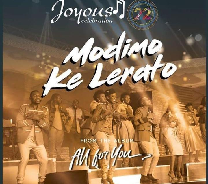 Download Music : Modimo Ke Lerato Mp3 +lyrics by Joyous Celebration 22