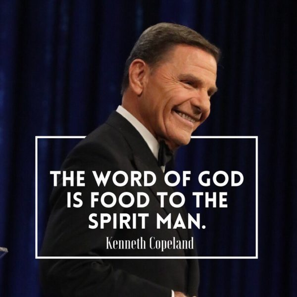 Daily devotional: Hit Him With The Rock by Kenneth Copeland [2018]