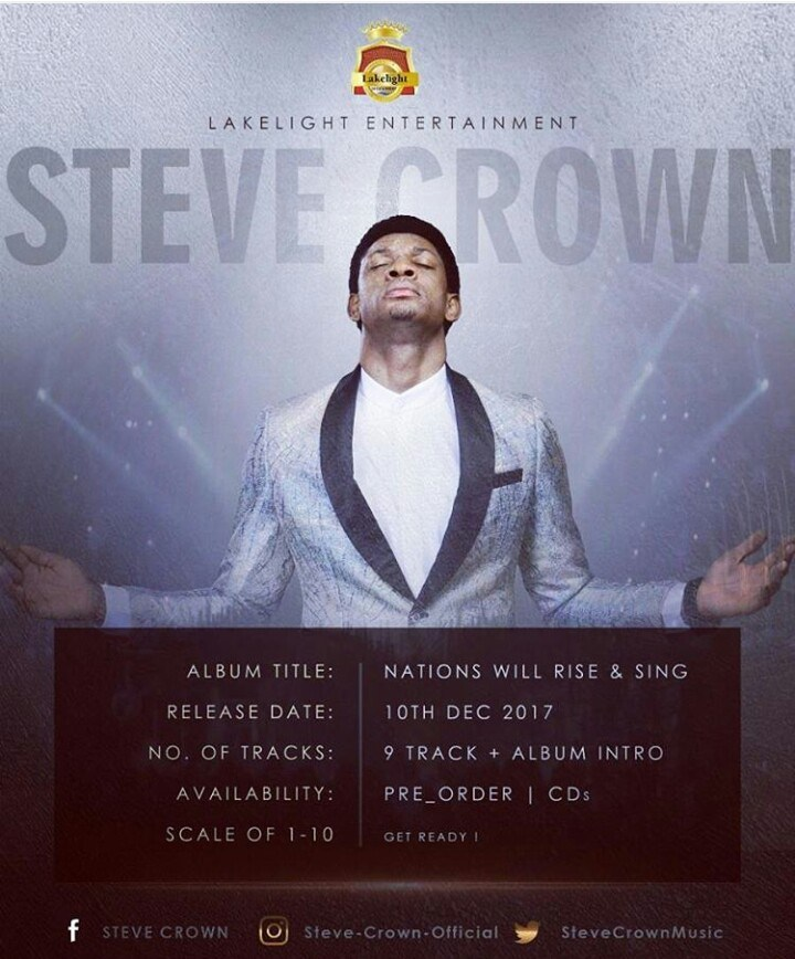 Nations Will Rise & Sing Album by Steve Crown