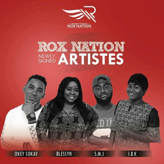 Tim Godfrey Signs New Artists, Okey Sokay, IBk, S.M.J & Blessyn To Rox Nation