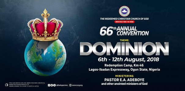 How to watch LIVE VIDEO BROADCAST of RCCG 66th August Annual Convention