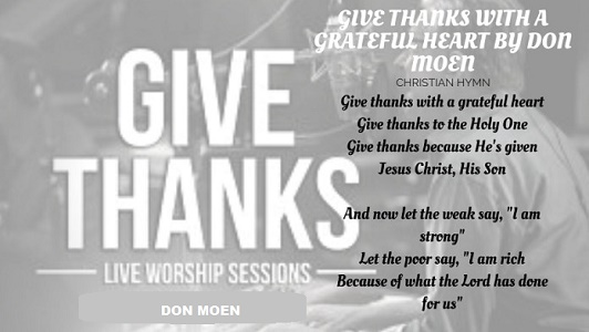 Give thanks with a grateful heart Mp3 by Don Moen