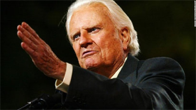 Billy Graham Devotional 25 November 2018 Whose Son Is He