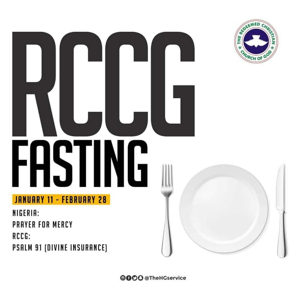 Download RCCG 2019 Forty-Nine (49) Days Fasting & Prayer Guide