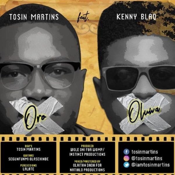 Download Music Oro Oluwa Mp3 By Tosin Martins Ft. Kenny Blaq