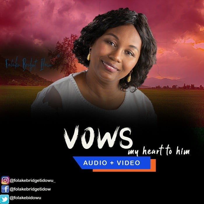 Download Music vows my heart for Him mp3 by