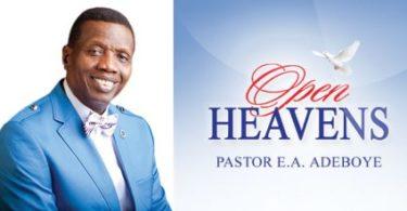 Open Heavens daily Devotionals