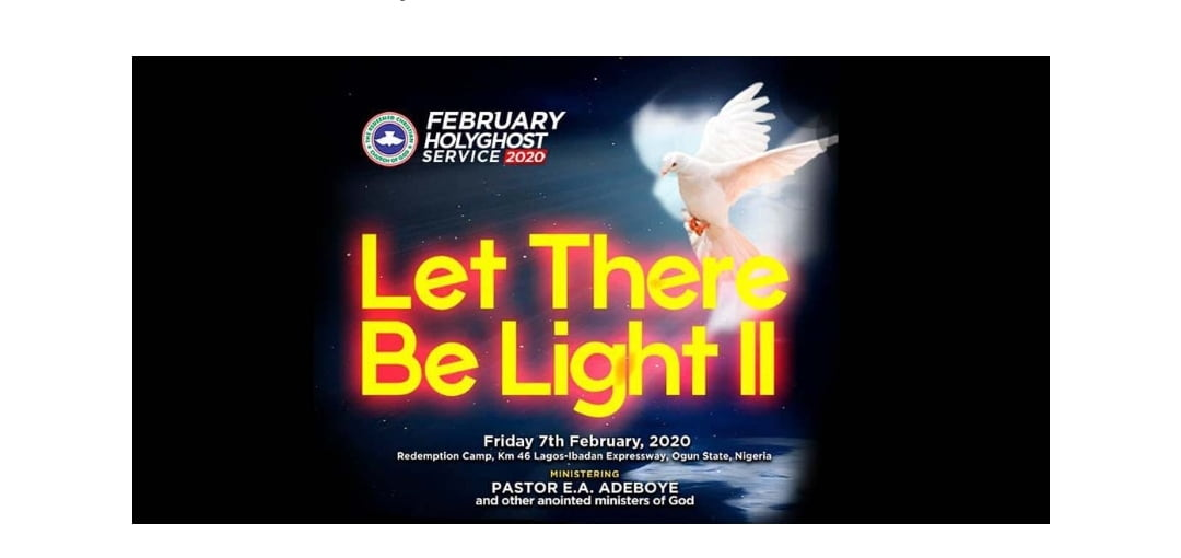 Video RCCG FEBRUARY 2020 HOLY GHOST Service LIVE