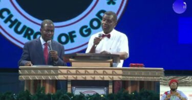 Pastor Adeboye Message at December 2020 holy ghost night