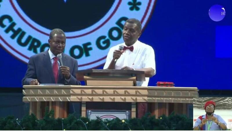 Pastor Adeboye Message at December 2020 holy ghost night